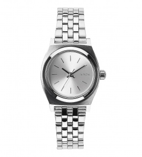 Watches Nixon Small Time Teller All Silver