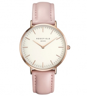 Watches Rosefield The Bowery Rosegold White/Pink