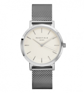 Watches Rosefield The Mercer Silver White