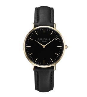 Watches Rosefield The Tribeca Gold Black/Black