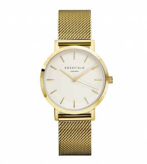 Watches Rosefield The Tribeca Gold White