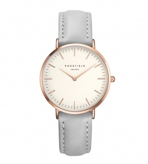 Watches Rosefield The Tribeca Rosegold White/Grey
