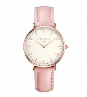 Watches Rosefield The Tribeca Rosegold White/Pink