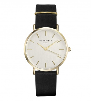 Watches Rosefield The West Village Gold White / Black