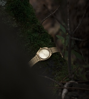 Watches Nixon Time Teller All Gold