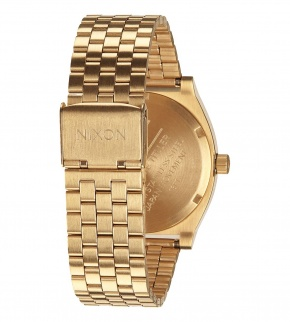Watches Nixon Time Teller All Gold / Black Sunray