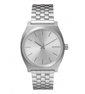 Watches Nixon Time Teller All Silver