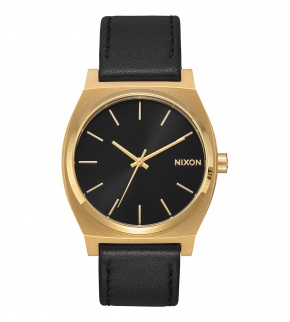 Watches Nixon Time Teller Gold Black / Black