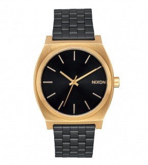 Watches Nixon Time Teller Gold / Black Sunray