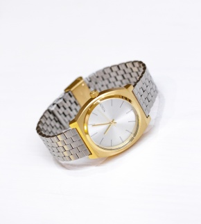 Watches Nixon Time Teller Gold Silver SIlver