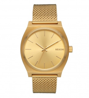 Watches Nixon Time Teller Milanese All Gold