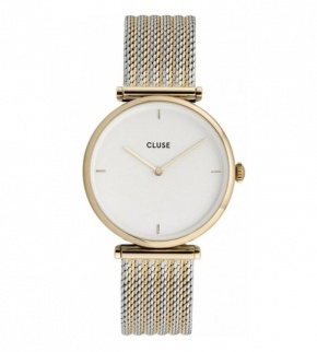 Watches Cluse Triomphe Gold Bicolour Mesh
