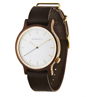 Watches Kerbholz Walter Walnut Tanned Brown