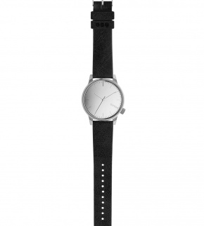 Watches Komono Winston Mirror Silver Black