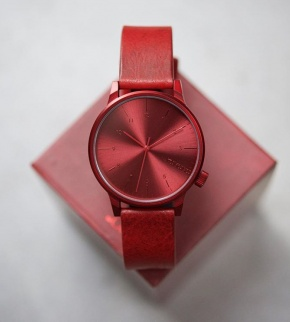 Watches Komono Winston Regal All Red