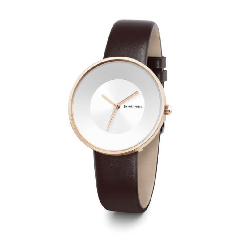 Cielo 34 Leather RoseGold White Moro