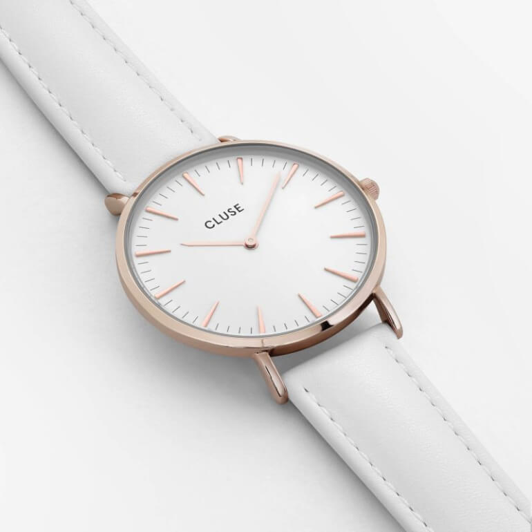 La Bohème Rose Gold White/White