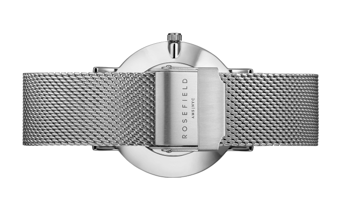 The Mercer Silver White